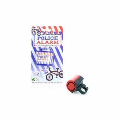 Fietsbel met politie sirene