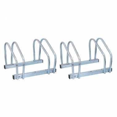 Fietsen rek / standaard voor 6x fietsen