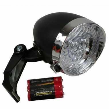 Led fiets koplamp op batterijen
