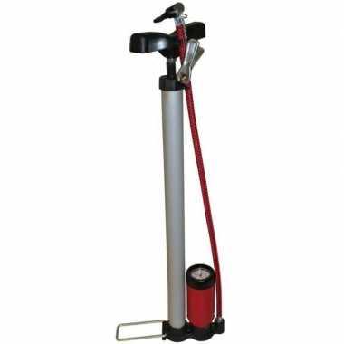 Luxe fietspomp inclusief manometer