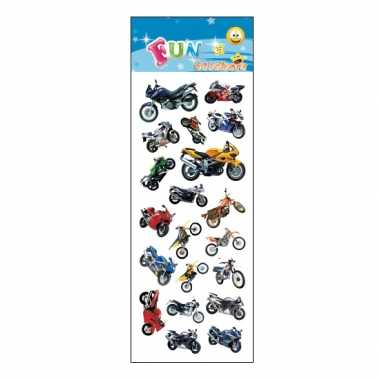 Stickervel motorfietsen
