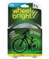 2x groene fietsverlichting spaakverlichting led lichtslangen
