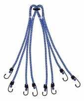 Bagagespin snelbinders 8 armig met haken 8 x 40 cm