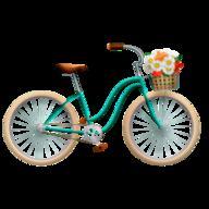 Blauw fietsslot 120 cm